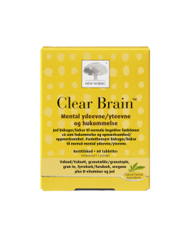 Clear Brain 60 tabletter - 130017