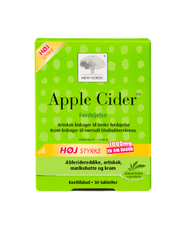 Apple Cider 30 tab New Nordic – 130020